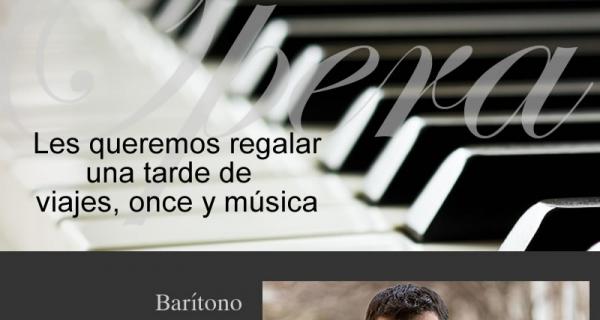 Barítono Javier Arrey se presentará en la Iglesia Luterana de Valdivia
